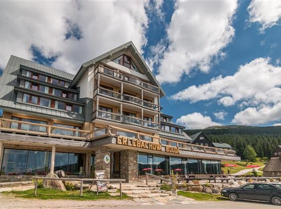 Resort sv. František- Erlebachova a Josefova bouda - Špindlerův Mlýn